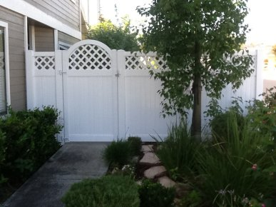 There is no substitute for a gate or utility door made from our low-maintenance vinyl with an aluminum reinforced frame. These products are designed for ... & Vinyl Gates and Utility Doors | Vinyl Products in Orange County